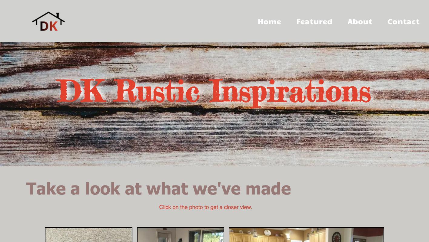 DK Rustic Inspirations