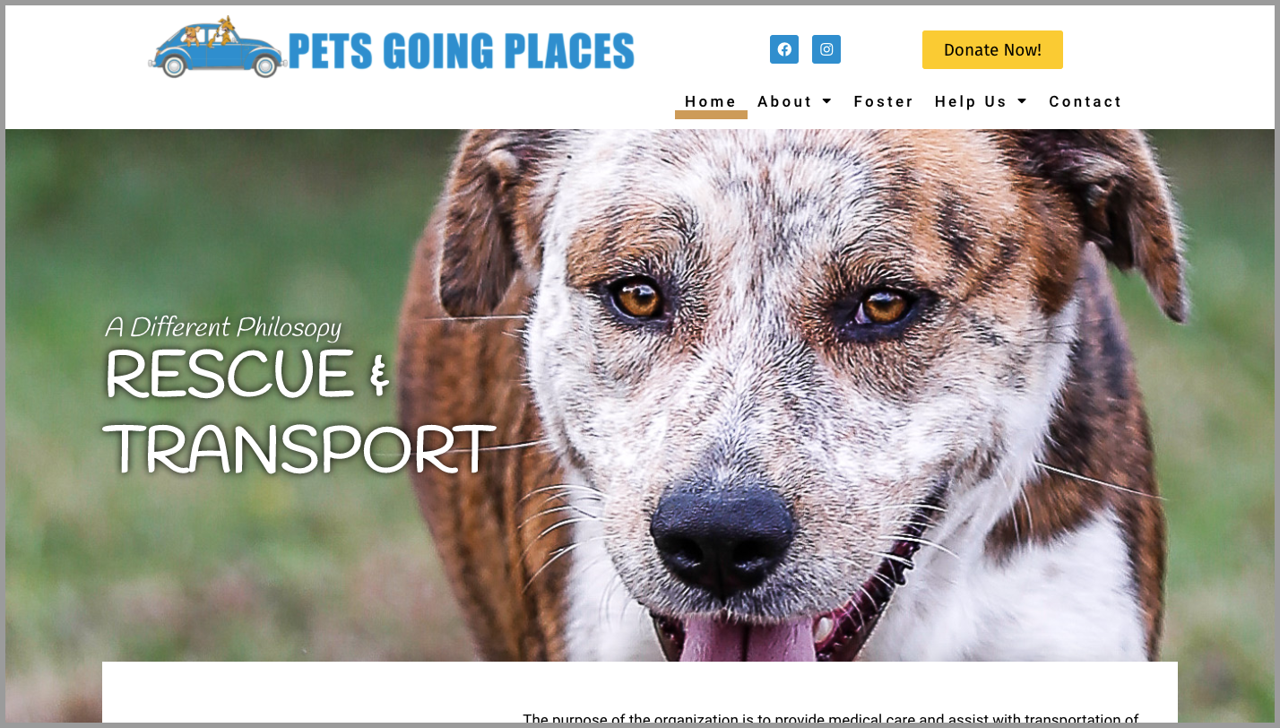PetsGoingPlaces.org